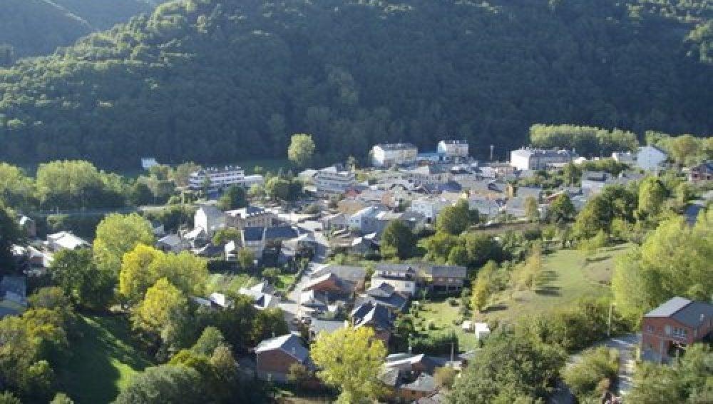 El pueblo As Nogais, en Lugo