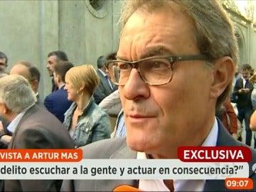 """Frame 35.361004 de: Artur Mas: """"Puede que me condenen pero eso no le da la razón a la Justicia"""""""