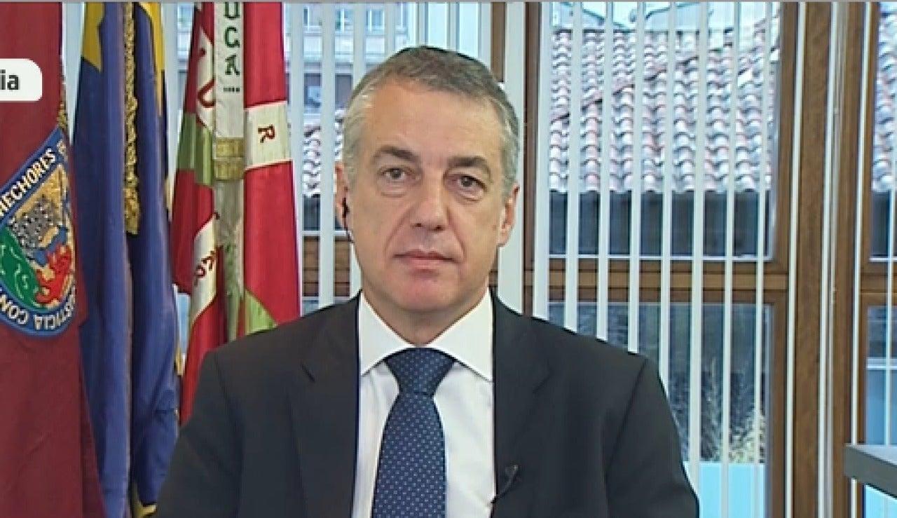 Íñigo Urkullu en Espejo Público