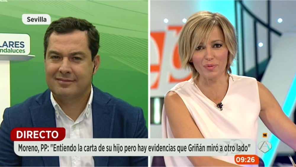 Juanma Moreno en Espejo Público