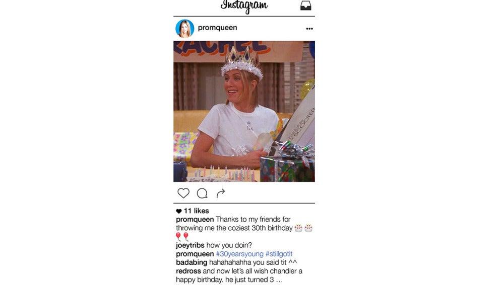 Rachel Green tiene Instagram