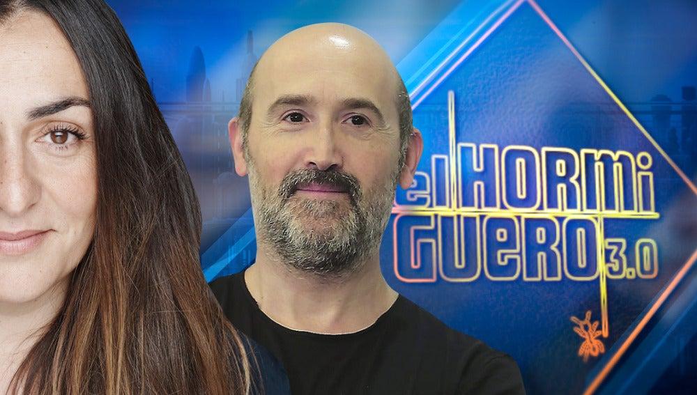 Javier Cámara y Candela Peña en 'El Hormiguero 3.0'