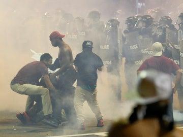 Disturbios en Charlotte, en Estados Unidos