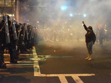 Protestas en Charlotte, Estados Unidos