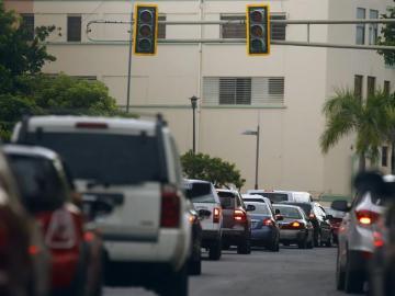 Alrededor de un millón y medio de personas se han visto afectadas hoy por un apagón eléctrico general en Puerto Rico
