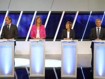 Los candidatos a presidente del Parlamento del País Vasco