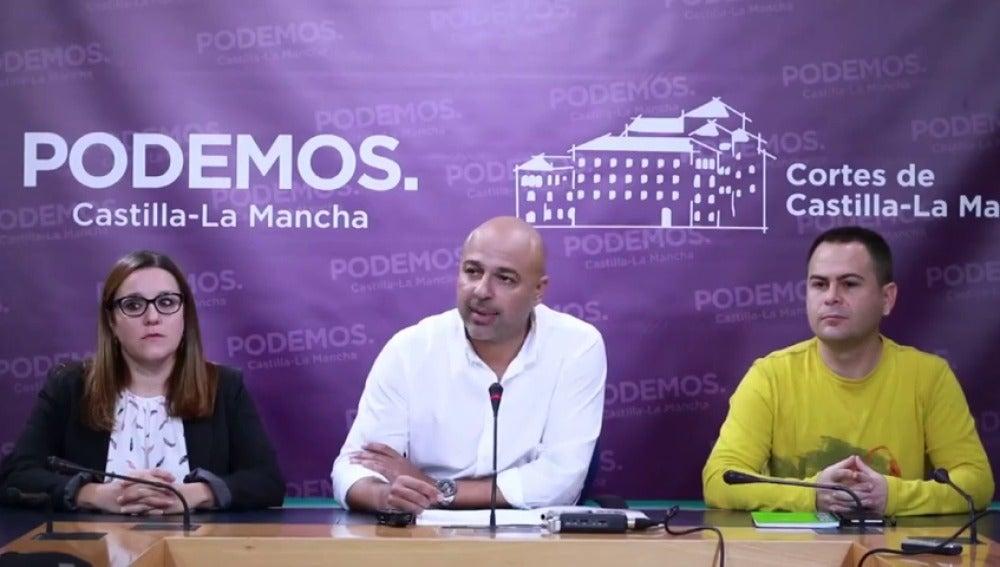 """Frame 20.295362 de: Podemos rompe su acuerdo con el PSOE en Castilla-La Mancha: """"El acuerdo de investidura ha muerto"""""""
