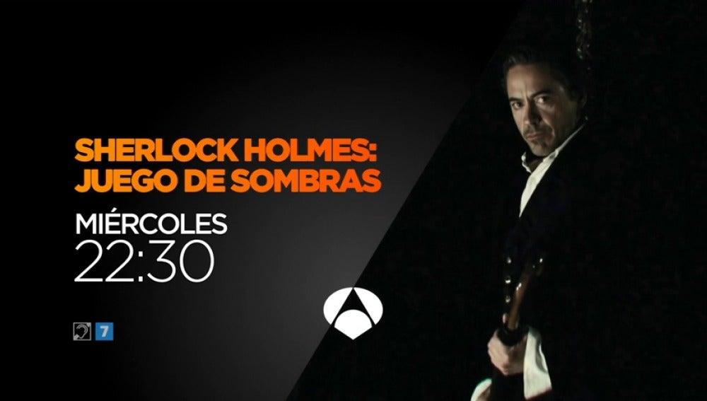 Frame 8.180252 de: Aventuras en Antena 3 de la mano de 'Sherlock Holmes'