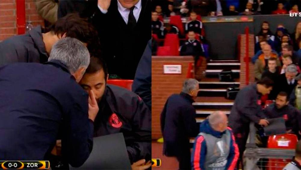 Así fue el monumental enfado de Mourinho