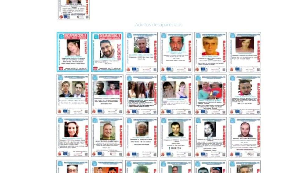 Frame 3.256817 de: En España desaparecen cinco personas cada dí.
