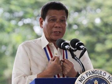 El presidente de Filipinas, Rodrigo Duterte