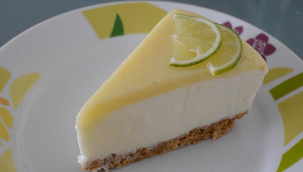 Cheesecake de lima, ¡yum!