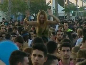 Macrofiesta en Valencia