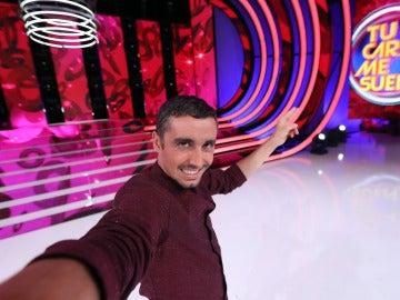 Canco Rodríguez se hace un selfie para 'Tu cara me suena'