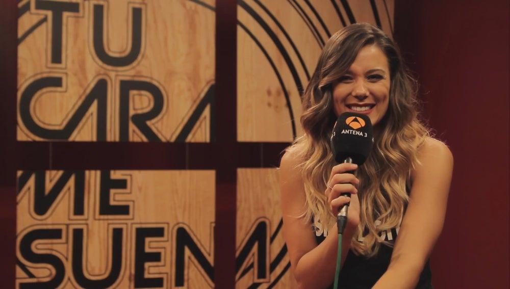 Entrevista a Lorena Gómez en 'Tu cara me suena'