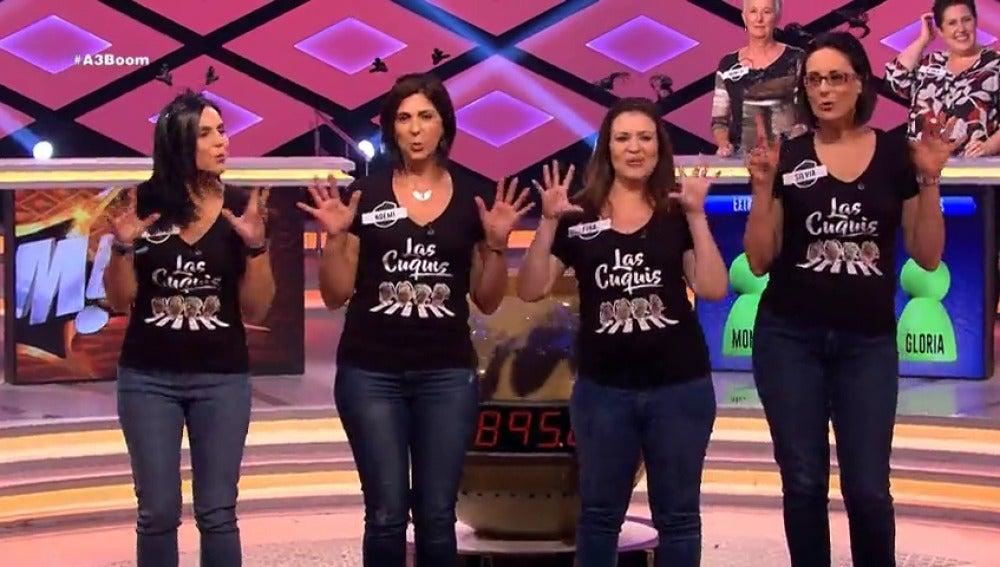 Frame 17.641453 de: 'Las Cuquis' entran pisando fuerte en '¡Boom!'