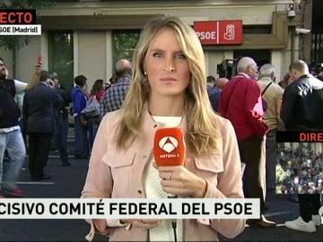 Tensión en el Comité Federal por las diferencias entre críticos y afines a Sánchez