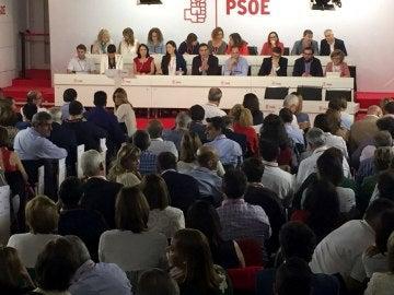 Imagen del interior del Comité Federal del PSOE