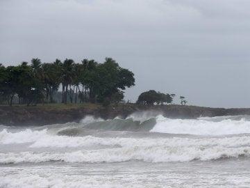 Una playa de Haití
