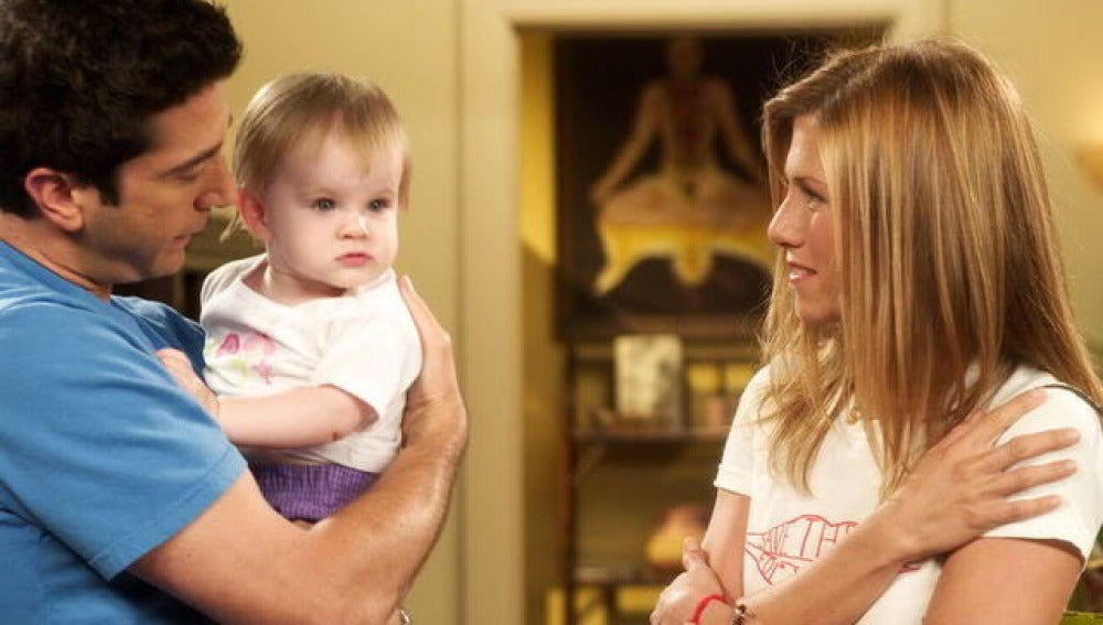Emma, la hija de Ross y Rachel en 'Friends'