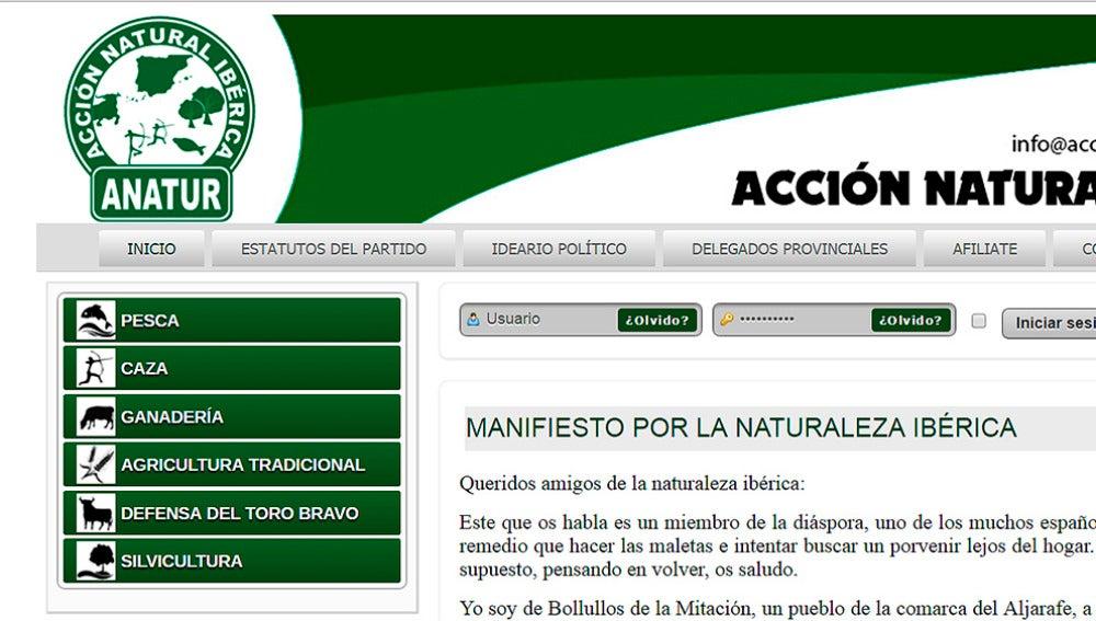 Web de ANATUR