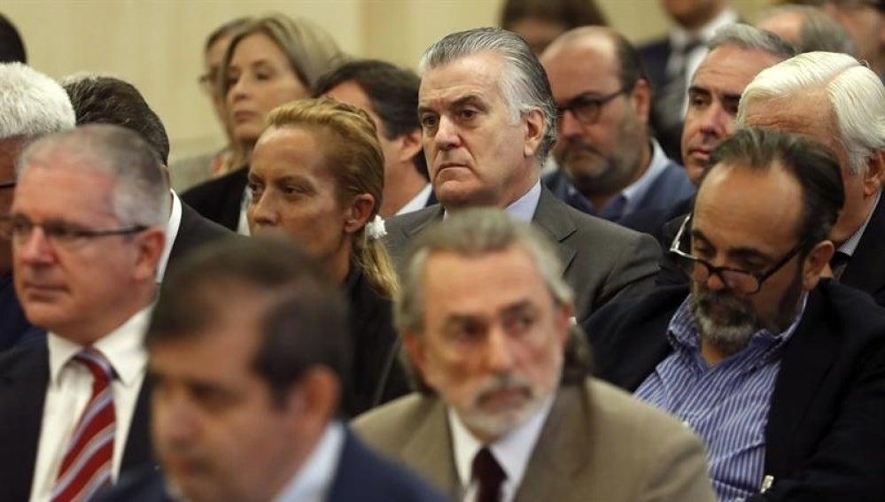 Bárcenas, Correa, Crespo y Carmen Rodríguez, exesposa de Francisco Correa