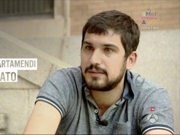 El exnovato Alberto Artamendi