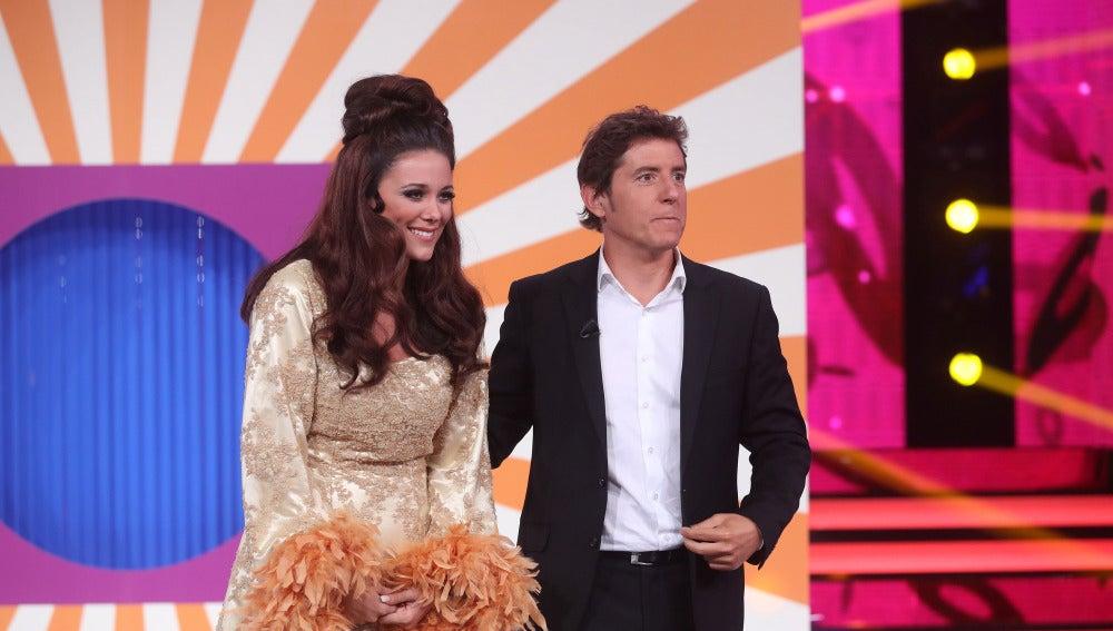 El jurado alaba la actuación de Lorena Gómez en 'Tu cara me suena'