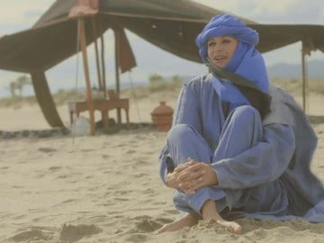 Frame 22.23214 de: Esther Arroyo viene desde el desierto del Sahara para concursar en 'Tu Cara me Suena'