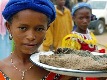 Una niña en Burkina Faso