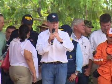 Frame 7.732723 de: Santos anuncia que el inicio del diálogo con el ELN está muy cerca