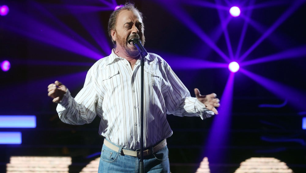 Juan Muñoz sorprende calcando la voz de Joe Cocker