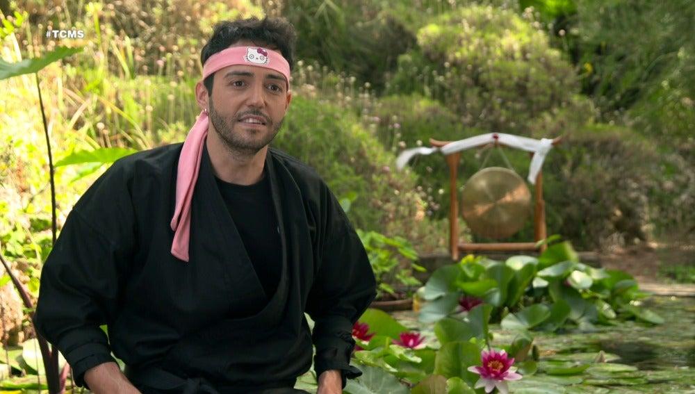 David Guapo, un ninja dispuesto a superar cualquier reto en 'Tu cara me suena'