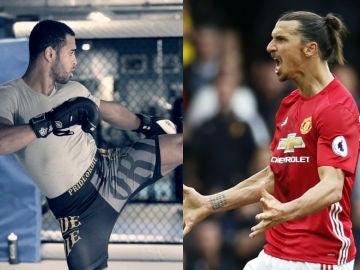 El británico Danny Roberts reta a Ibrahimovic a un combate de UFC