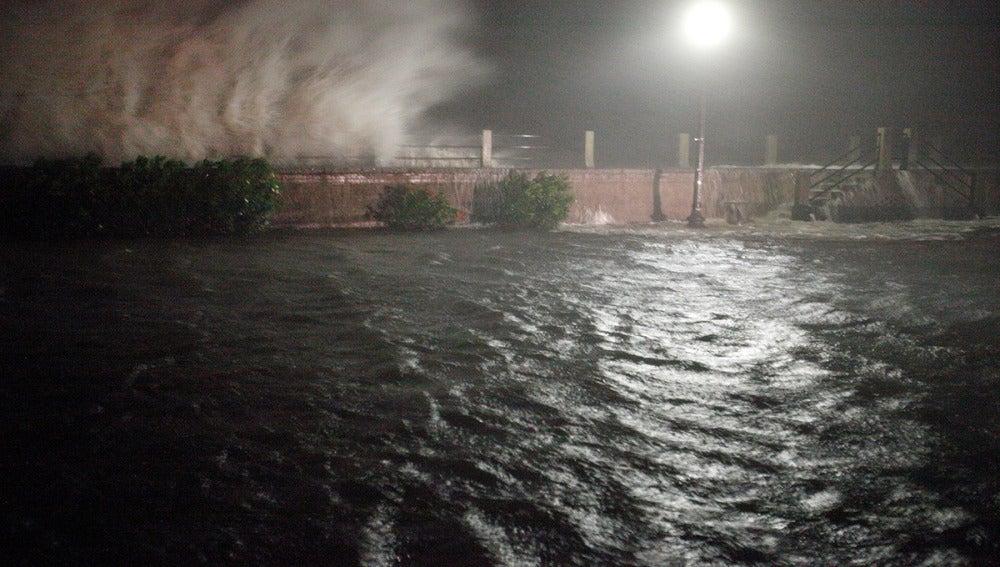 El nivel del mar ha subido en la costa de Georgia tras el paso de Matthew