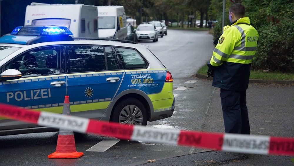 Operación antiterrorista en Alemania