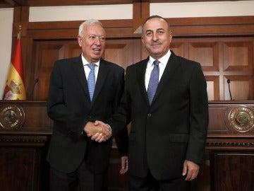 García-Margallo y su homólogo turco