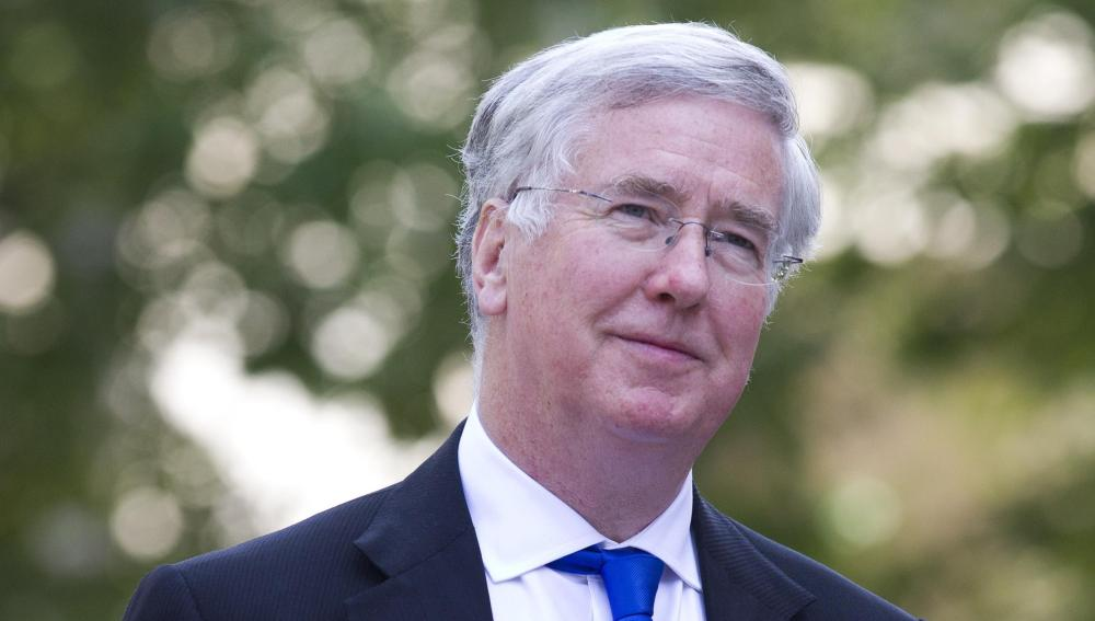 El ministro británico de Defensa, Michael Fallon
