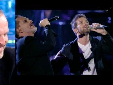 Así suenan Miguel Bosé y Pablo López cantando a dúo