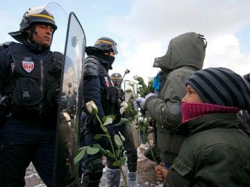 Niños en Calais