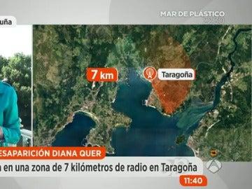 La Policía reduce el campo de búsqueda de Diana Quer a un radio de 7 kilómetros en Taragoña