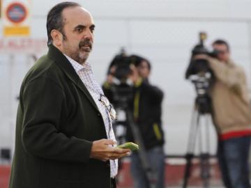 Guillermo Ortega a su llegada a la sede de la Audiencia Nacional