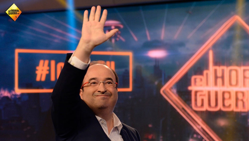 Miquel Iceta en 'El Hormiguero 3.0'