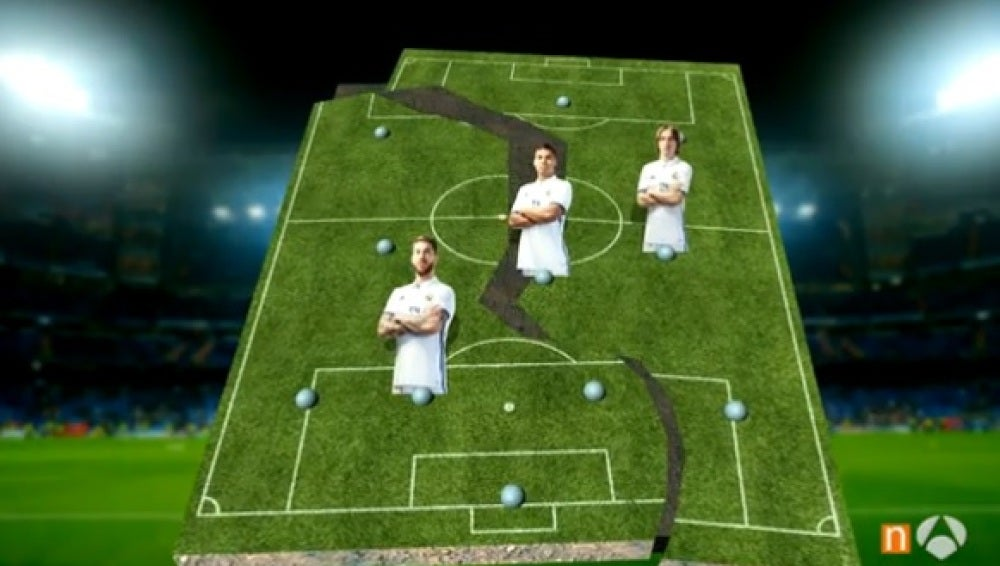 La columna vertebral del Real Madrid está tocada