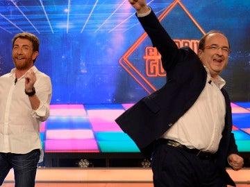 El baile de Miquel Iceta en 'El Hormiguero 3.0'