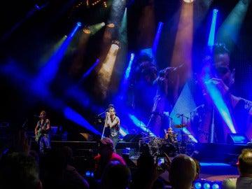 Depeche Mode durante su gira estadounidense