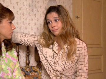 Fiona consuela a Henar que no deja de pensar en Jaime