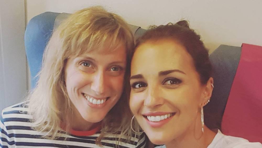 Cecilia Freire y Paula Echevarría