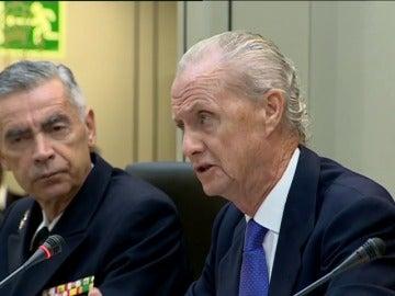 Frame 44.342248 de: Pedro Morenés felicita a los efectivos de las Fuerzas Armadas desplegados en el exterior