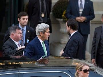 La ciudad suiza de Lausana ha sido el punto de encuentro de John Kerry, y el ministro ruso de Exteriores, Serguéi Lavrov.